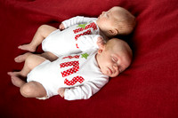 Twin Newborn Portrait Photography